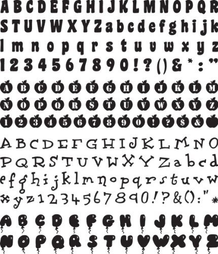 Making Memories Slice Design Card Machine, Playground Alphabet (Slice Die Cutting Machine compare prices)