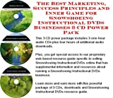 img - for The Best Marketing, Success Principles and Inner Game for Snowshoeing Instructional DVDs Businesses 3 CD Power Pack book / textbook / text book
