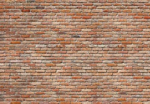 Komar 8-741 8-Panels 12-Foot 1-Inch by 8-Foot 4-Inch Bricks Wall Mural