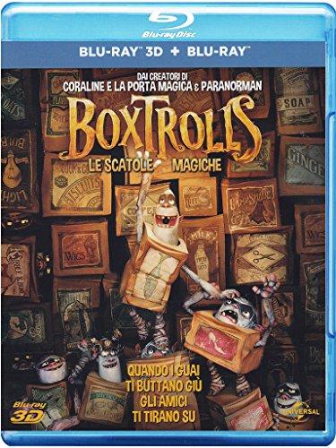 Boxtrolls - Le Scatole Magiche (Blu-Ray + Blu-Ray 3D)