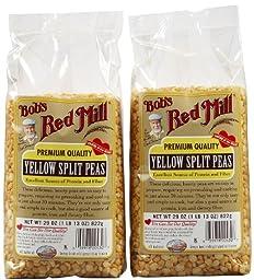 Bob\'s Red Mill Yellow Split Peas Beans, 29 oz, 2 pk