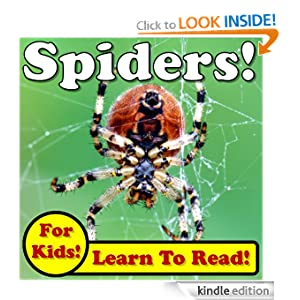 Spiders! Learn About Spiders While Learning To Read - Spider Photos And Facts Make It Easy! (Over 45+ Photos of Spiders)