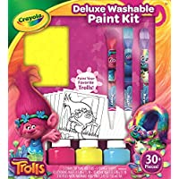 Crayola Trolls Deluxe Washable Paint Kit