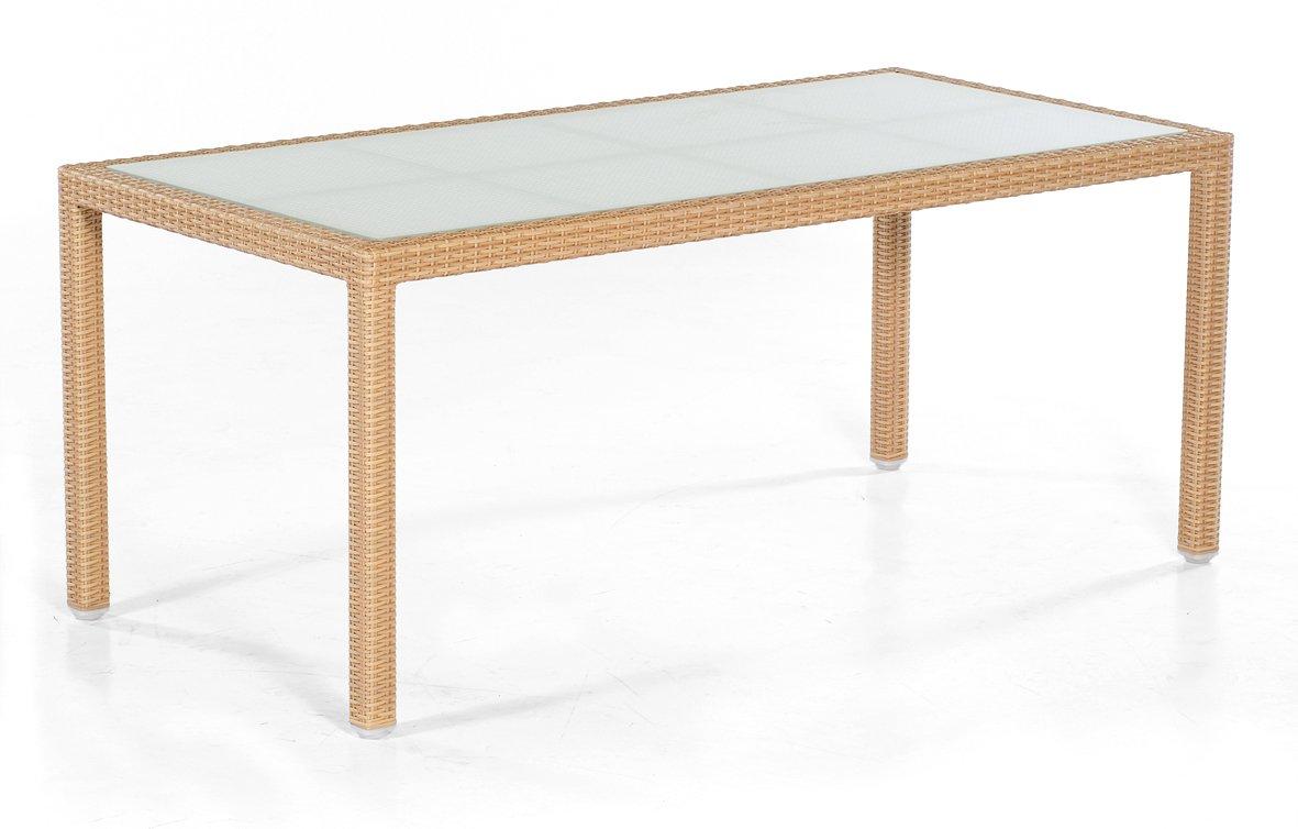 Tisch Vera Cruz 160 x 90 cm graphit-schwarz