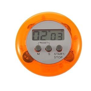 Reloj Temporizador Digital con Cuenta Atras y Alarma para Cocina Magnetico 2281naranja   Revisión del cliente y la descripción más