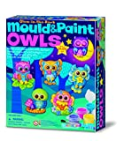 Great Gizmos Mould and Paint Glow Owls