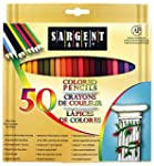Sargent Art 22-7251 Colored Pencils,...