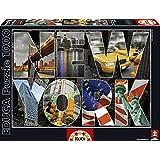 Educa - 16288 - Puzzle Classique - Collage De New York - 1000 Pièces