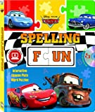 img - for Disney/Pixar Cars Spelling Fun (Puzzle book with audio CD) book / textbook / text book