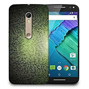 Snoogg Small Grass Design Printed Protective Phone Back Case Cover For Motorola X Style