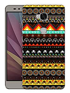 "Humor Gang Ethnic Indian Print Printed Designer Mobile Back Cover For ""Huawei Honor 5X"" (3D, Matte, Premium Quality Snap On Case)"