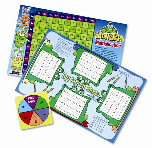 Learning Resources Multiplication and Division Game Board Book - Buy Learning Resources Multiplication and Division Game Board Book - Purchase Learning Resources Multiplication and Division Game Board Book (Learning Resources, Toys & Games,Specialty Stores,Gift Wrap Eligible)