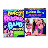 Colleen Dorsey Loom Rubber Band Crafts and Jewelry 2 Books Collection Set. (Totally Awesome Rubber Band Jewelry and Epic Rubber Band Crafts)