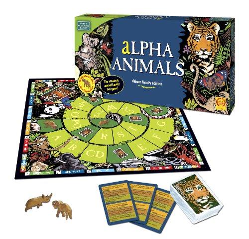 Imagen 2 de Green Board Games Alpha Animals - Juego de mesa (importado de Reino Unido)