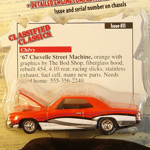 Street Champions Classics1967 Classified Chevelle Machinelimited Street Racing