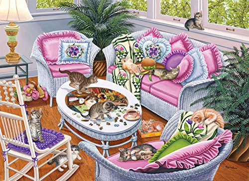 Ten Tabbies 1000 Piece Jigsaw Puzzle by Sunsout Inc.