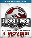 Jurassic Park 1-4 Collection [Blu-ray 3D + Blu-ray + Digital HD] (Bilingual)