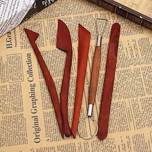 saver-5-pcs-pottery-clay-wax-ceramics-modeling-sculpture-wood-carving-tools-set