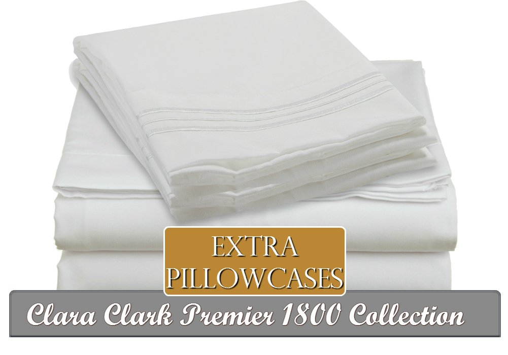 4 PC Sheet Set Premier 1800 Bedding Collection