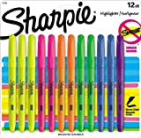 Sharpie Accent Pocket-Style Highlighters, 12 Colored Highlighters