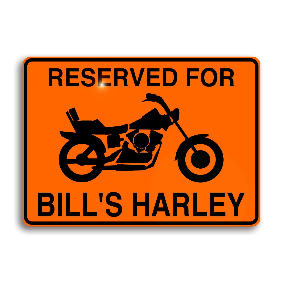 Motorcycle Personalized Sign