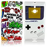 Nokia Lumia 1520 TPU SILICON 2x SET COMIC + GAMEBOY Design Case protection-Case Cover SHOCK phone case thematys®