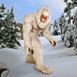 Design Toscano The Abominable Snowman Yeti Statue, Life-Size