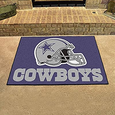 "Fan Mats 5723 NFL - Dallas Cowboys 34"" x 45"" All-Star Series Area Rug / Mat"