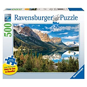 Large Size 500 Pieces Ravensburger Beautiful Vista Jigsaw Puzzle