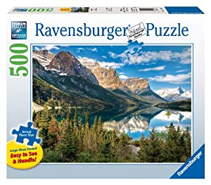 Ravensburger Beautiful Vista - 500 Pieces Large Format Puzzle