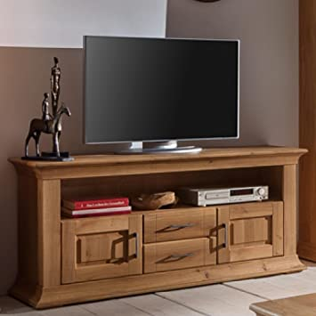 BFK Möbel Collection Beverly Lowboard  Holz braun 46.5x151x73 cm