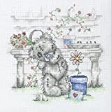 Anchor Me to You Flower Pot Counted Cross Stitch Kit