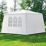 Pavillon 3x3m mit 4 Seitenwände Partyzelt Festzelt...