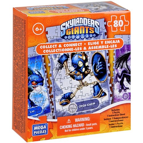 Skylander's Giants Collect and Connect 80 piece Puzzle [Chop Chop]