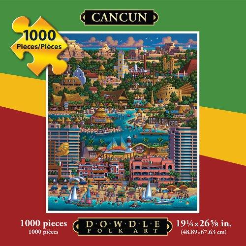 Jigsaw Puzzle - Cancun 1000 Pc By Dowdle Folk Art