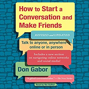 How to Start a Conversation and Make Friends Audiobook