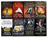 Bernard Cornwell Bernard Cornwell Warrior Chronicles Series 8 Books Set (The Pagan Lord, Death of Kings, The Lord of the North, Sword Song, The Burning Land, The Pale Horseman, The Last Kingdom, The Empty Throne)