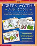 img - for 15 Greek Myth Mini-Books: Reproducible Comic Book-Style Retellings That Introduce Kids to These Riveting Classic Stories-and Motivate All Readers book / textbook / text book