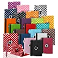 360 ROTATING FLIP LEATHER CASE COVER FOR THE NEW IPAD MINI (BLACK)