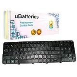 UBatteries Compatible Laptop Keyboard Replacement For HP ENVY DV7-7000 DV7T-7000 HP Pavilion DV7-7000 DV7T-7000 698783-001 681980-001 LKB-HC40B - (Black)