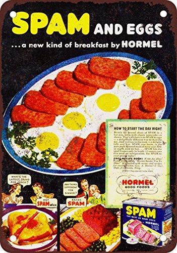 hormel-spam-et-oeufs-look-vintage-reproduction-plaque-en-metal-203-x-305-cm