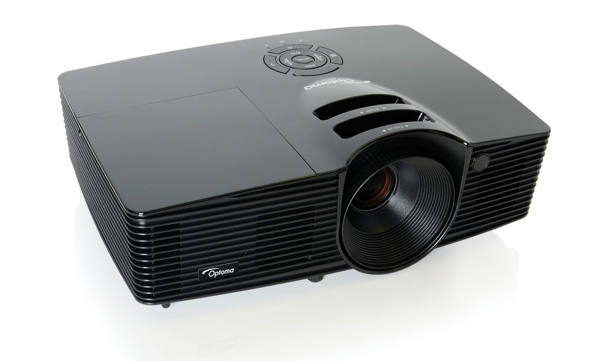 Optoma hd141x full hd 3d 1080p projector only on for Hd projector amazon