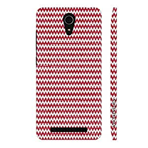 Enthopia Designer Hardshell Case WOOLEN CHEVRON Back Cover for Asus Zenfone 6