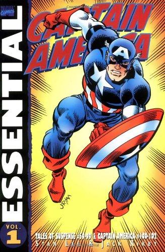 Essential Captain America, Vol. 1 (Marvel Essentials) (v. 1) (Captain America Essential 3 compare prices)