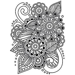 Amazon.com: Darice Embossing Folder, 4.25 by 5.75-Inch, Henna