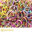 600 x Striped Friendship Looms & 24 x S Clips & 2 x Knotting Tools