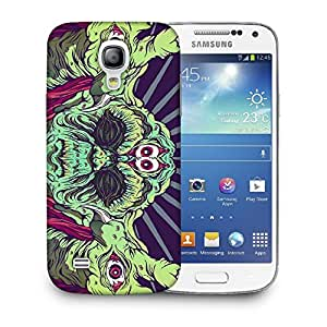 Snoogg Four Eyes Designer Protective Back Case Cover For SAMSUNG GALAXY S4 MINI