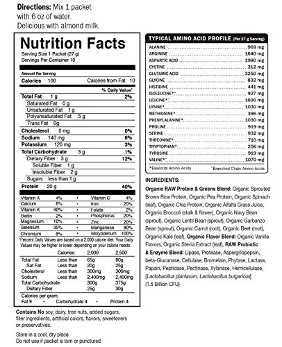 Garden Of Life Raw Protein And Greens Dealtrend