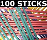100 x Incense Sticks. Mixed Fragrances.