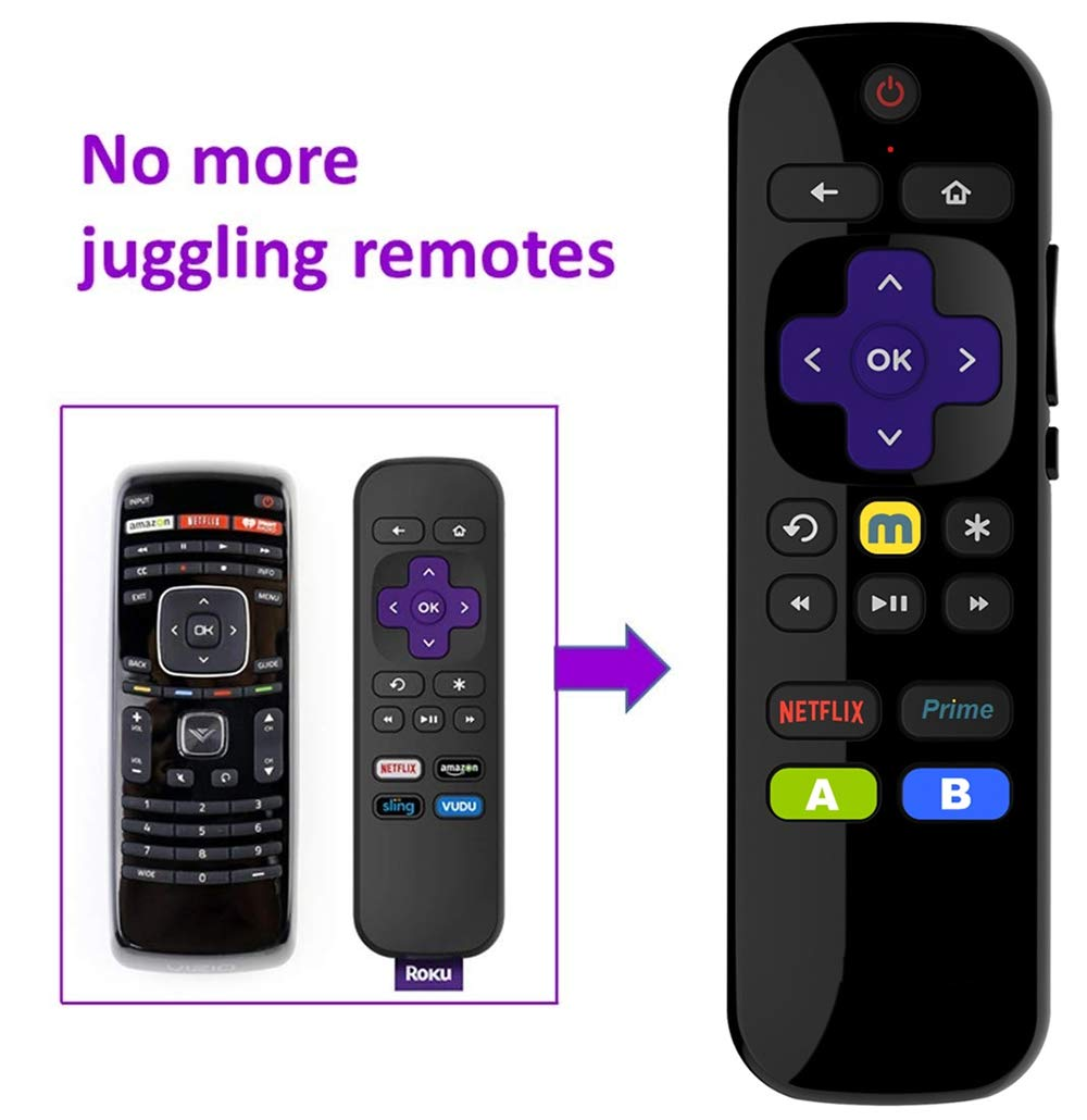 Roku Express Universal IR TV Remote